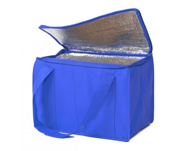 PP-Vlies Kühltaschen Farbe: blau - B19a