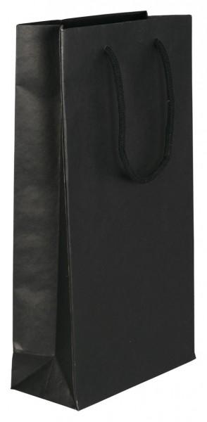 Flaschenbeutel für 2 Flaschen Farbe: schwarz
