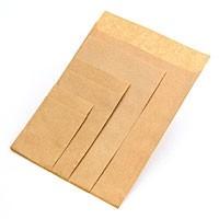 Flachbeutel - Kraftpapier braun T4